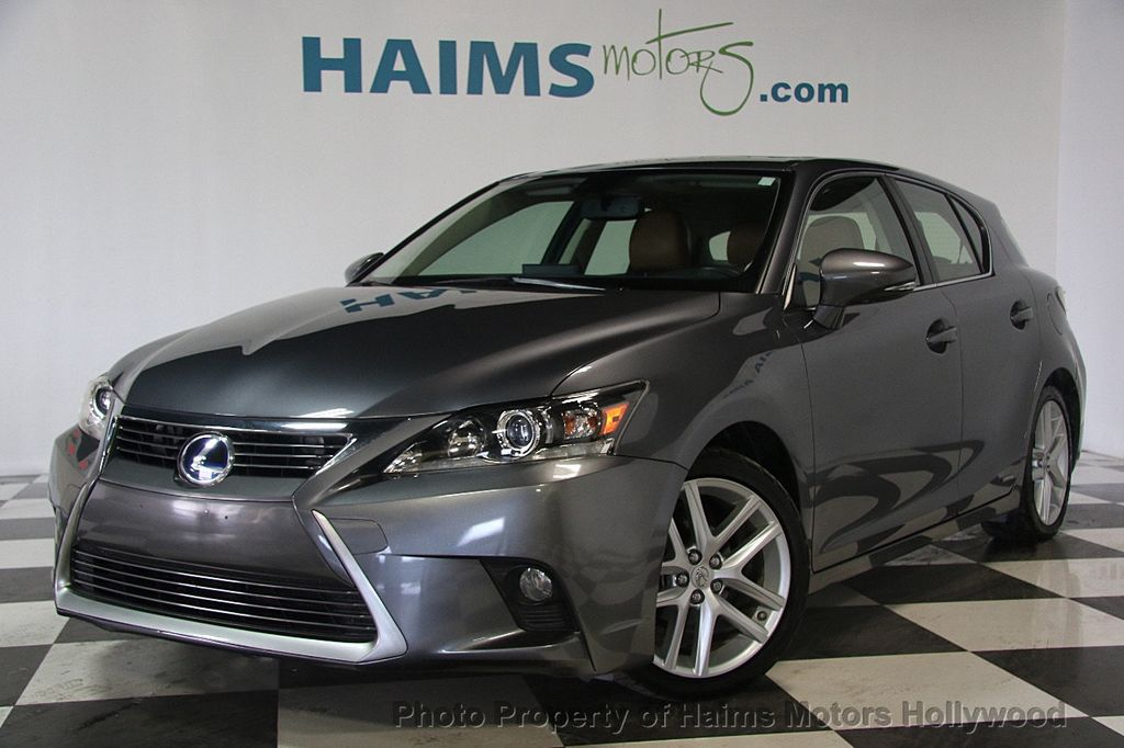 2014 Lexus CT 200h 5dr Sedan Hybrid - 17375743 - 1