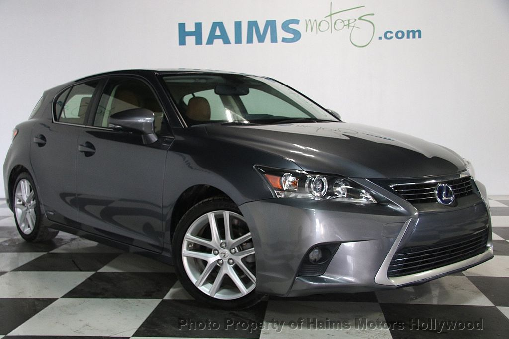 2014 Lexus CT 200h 5dr Sedan Hybrid - 17375743 - 3