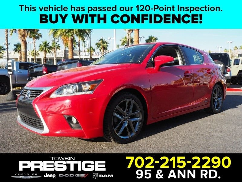 2014 Lexus CT 200h 5dr Sedan Hybrid - 17749425 - 0
