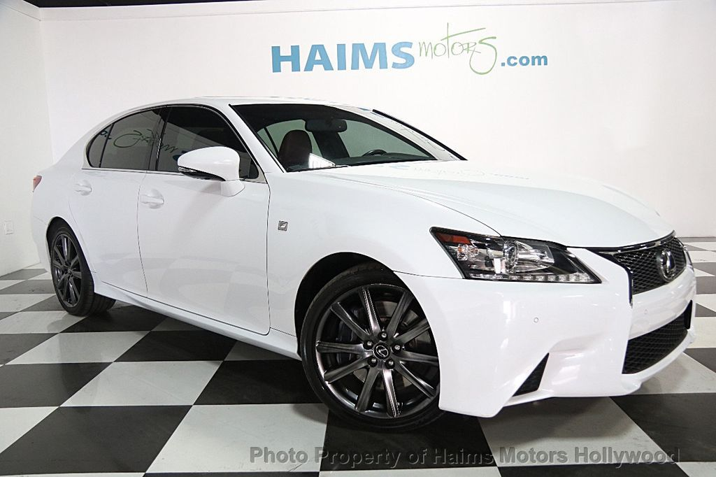2014 Lexus GS 350 4dr Sedan RWD   16063371   2