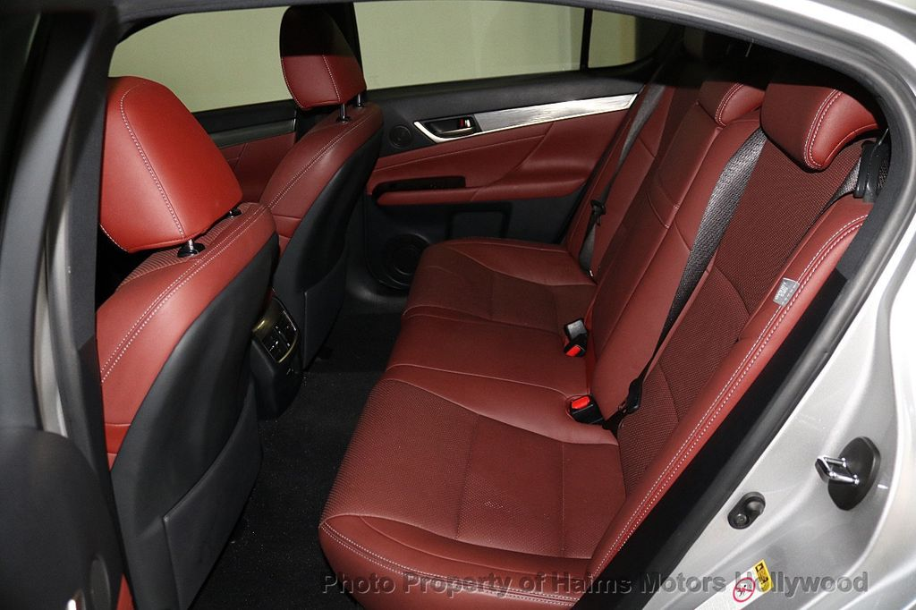 2014 Lexus GS 350 RED INTERIOR   17745018   17