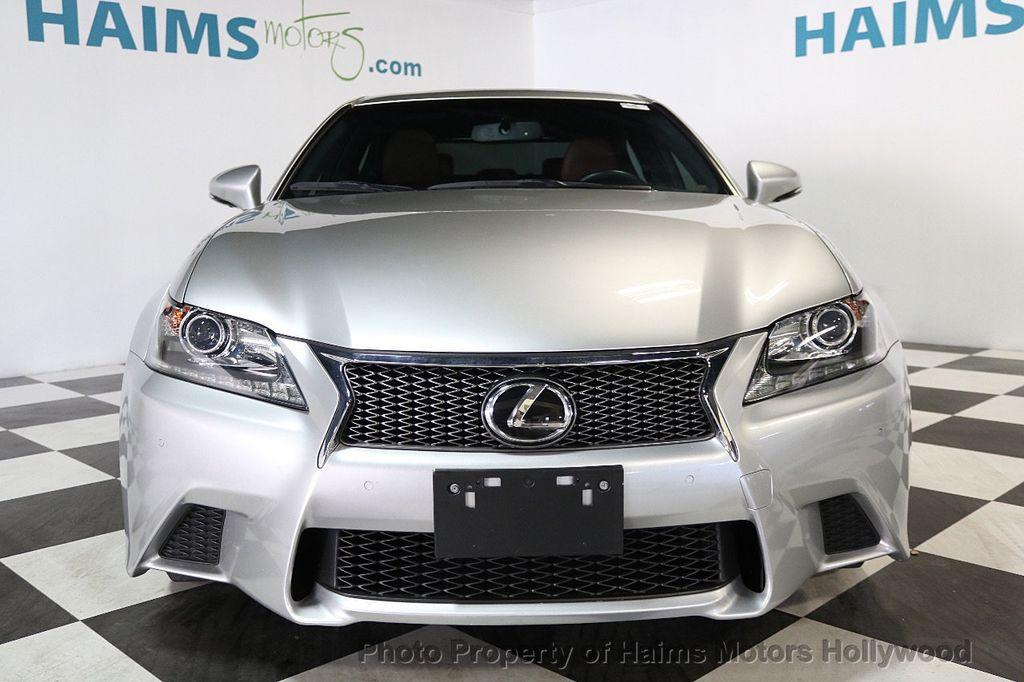 2014 Lexus GS 350 RED INTERIOR   17745018   2