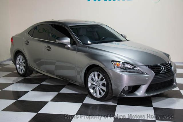 2014 used lexus is 250 4dr sport sedan automatic rwd at haims motors hollywood serving fort. Black Bedroom Furniture Sets. Home Design Ideas