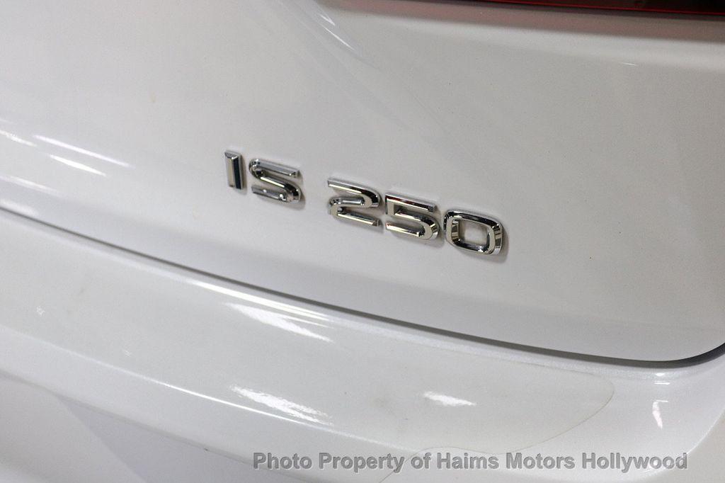 2014 Lexus IS 250 4dr Sport Sedan Automatic RWD - 18016352 - 7