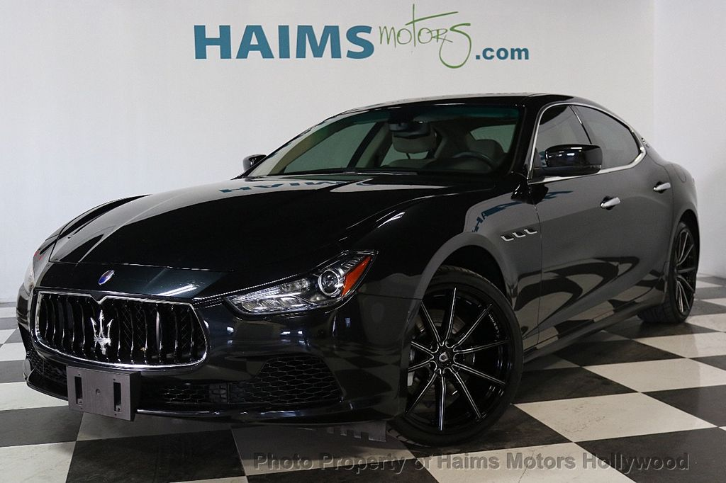 Used Maserati Ghibli >> 2014 Used Maserati Ghibli 4dr Sedan At Haims Motors Serving Fort