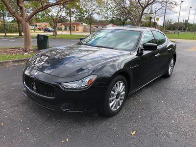 2014 Maserati Ghibli 4dr Sedan