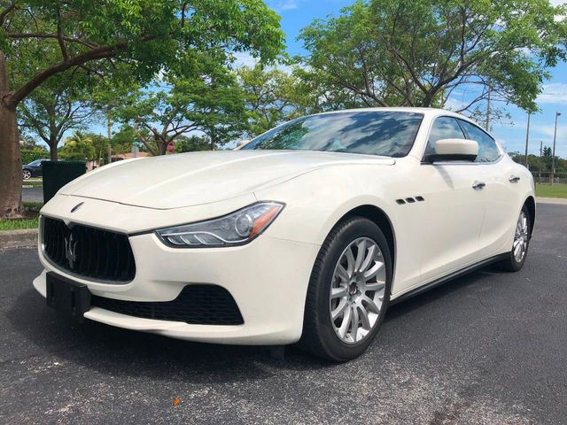 2014 Maserati Ghibli 4dr Sedan - Click to see full-size photo viewer