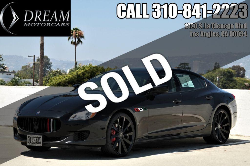 2014 Maserati Quattroporte Base Trim - 18122258 - 0