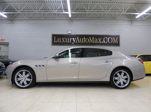 2014 used maserati quattroporte under factory warranty til august 2018 at luxury automax serving. Black Bedroom Furniture Sets. Home Design Ideas