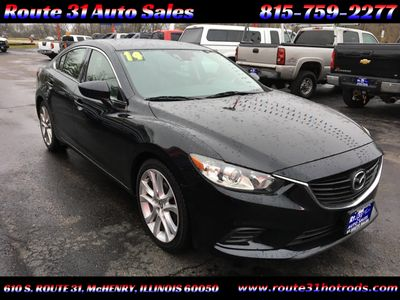 2014 Mazda Mazda6 4dr Sedan Automatic i Touring - Click to see full-size photo viewer