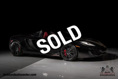 2014 McLaren MP4-12C Fabspeed 750 Plus  Performance Package, Carbon Fiber Wheels, WOW Convertible