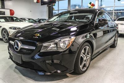 2014 Mercedes-Benz CLA 4dr Coupe CLA250 4MATIC Sedan