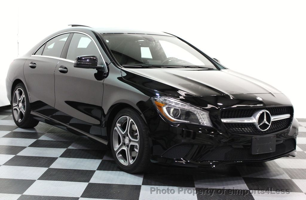 2014 used mercedes benz cla certified 2014 cla250 sedan for Used mercedes benz cla250
