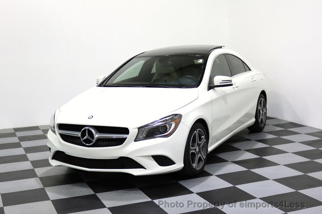 2014 Mercedes-Benz CLA CERTIFIED CLA250 4Matic AWD PANO XENONS NAVIGATION - 17275676 - 0