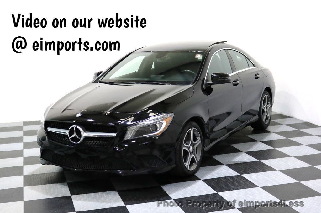 2014 Mercedes-Benz CLA CERTIFIED CLA250 4Matic AWD XENONS PANO NAVIGATION - 17401787 - 0