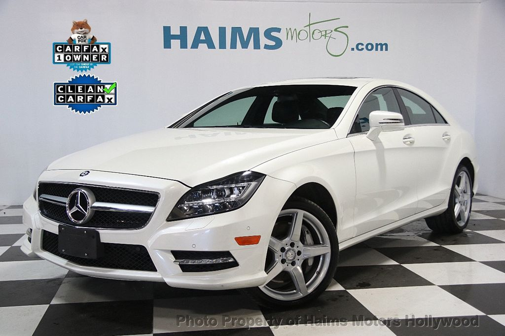 2014 Mercedes Benz CLS 4dr Sedan CLS 550 4MATIC   17020463