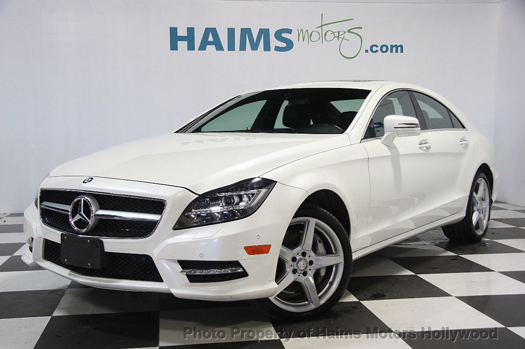 2014 Mercedes-Benz CLS 4dr Sedan CLS 550 4MATIC - 17020463 - 1