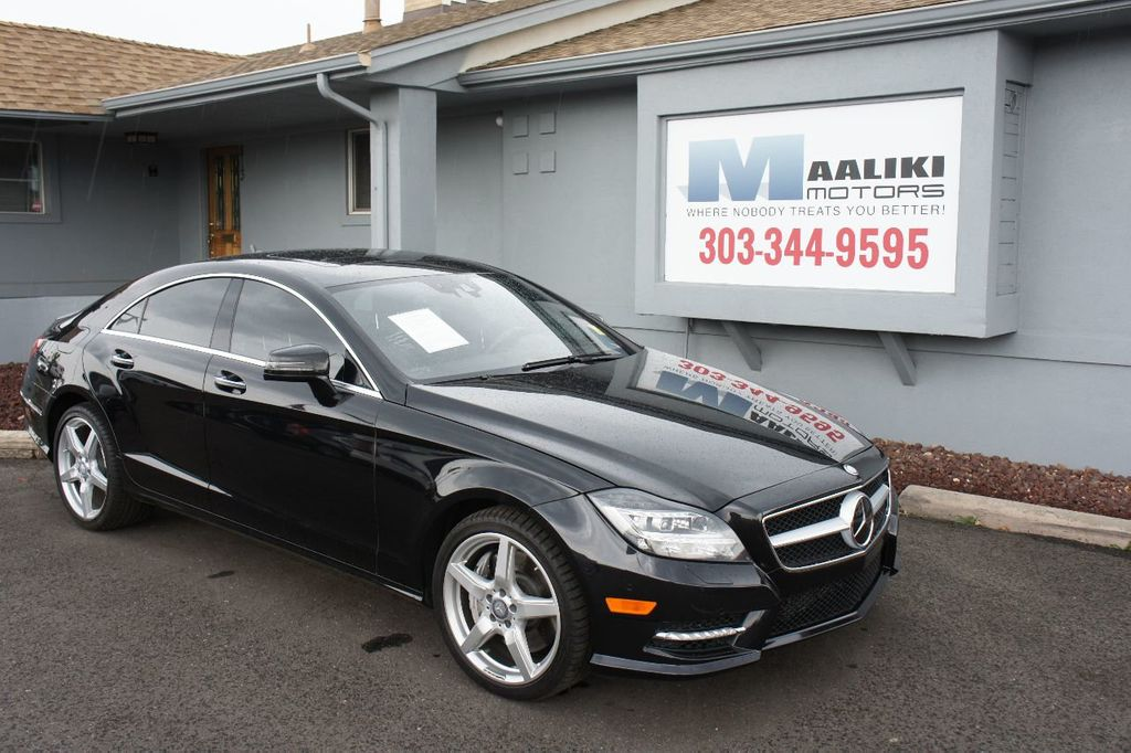 2014 Mercedes-Benz CLS 4dr Sedan CLS 550 4MATIC - 17772574 - 0