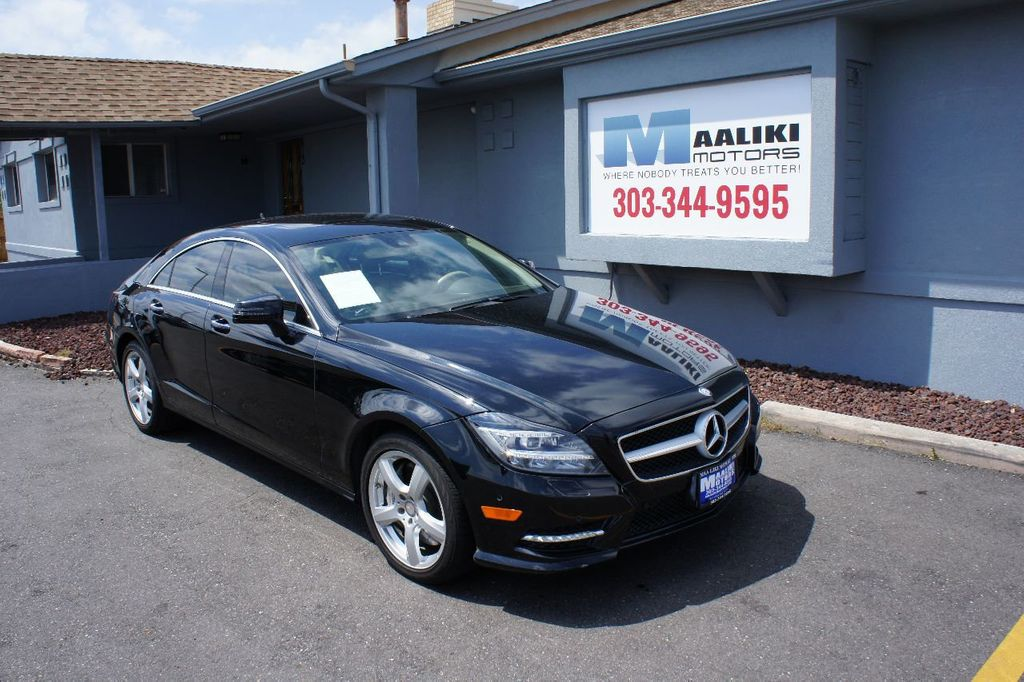 2014 Mercedes-Benz CLS 4dr Sedan CLS 550 4MATIC - 17907202 - 0
