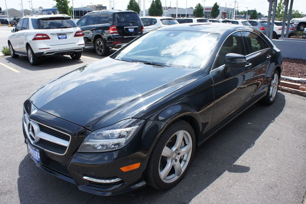 2014 Mercedes-Benz CLS 4dr Sedan CLS 550 4MATIC - 17907202 - 1