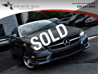2014 Mercedes-Benz CLS 4dr Sedan CLS 550 4MATIC