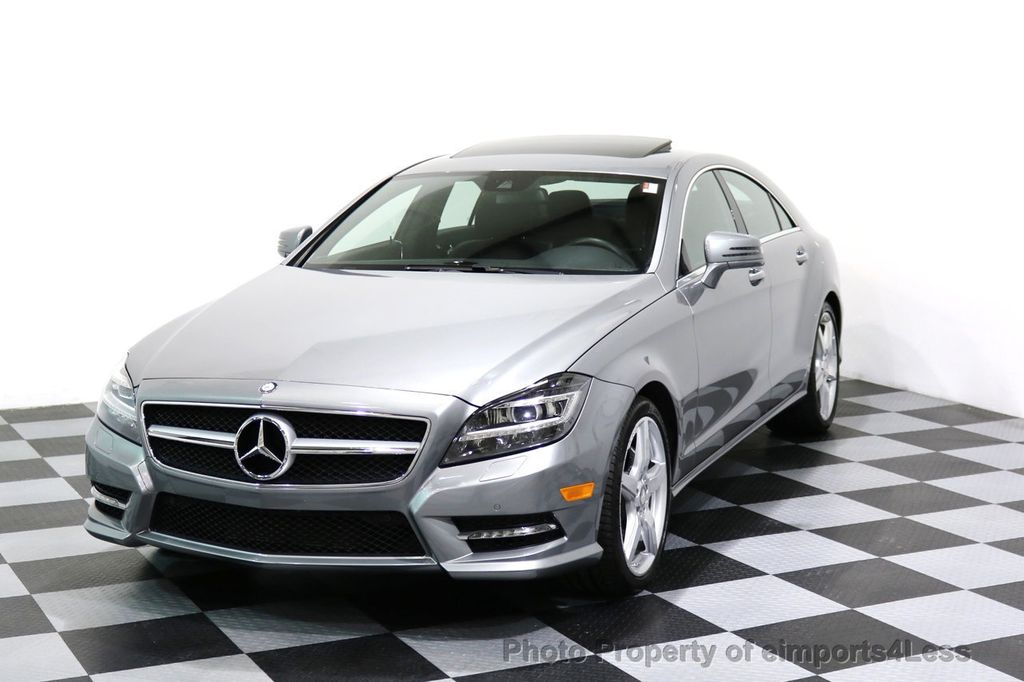 2014 Mercedes-Benz CLS CERTIFIED CLS550 4Matic AMG Sport AWD Lane Tracking NAVI - 17227763 - 0