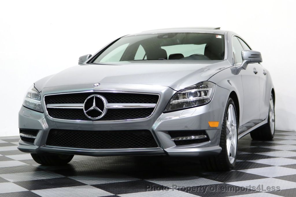 2014 Mercedes-Benz CLS CERTIFIED CLS550 4Matic AMG Sport AWD Lane Tracking NAVI - 17227763 - 13