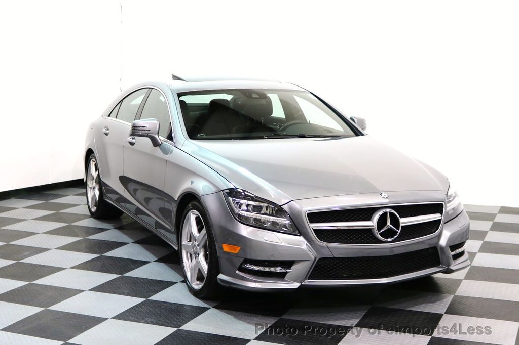 2014 Mercedes-Benz CLS CERTIFIED CLS550 4Matic AMG Sport AWD Lane Tracking NAVI - 17227763 - 1