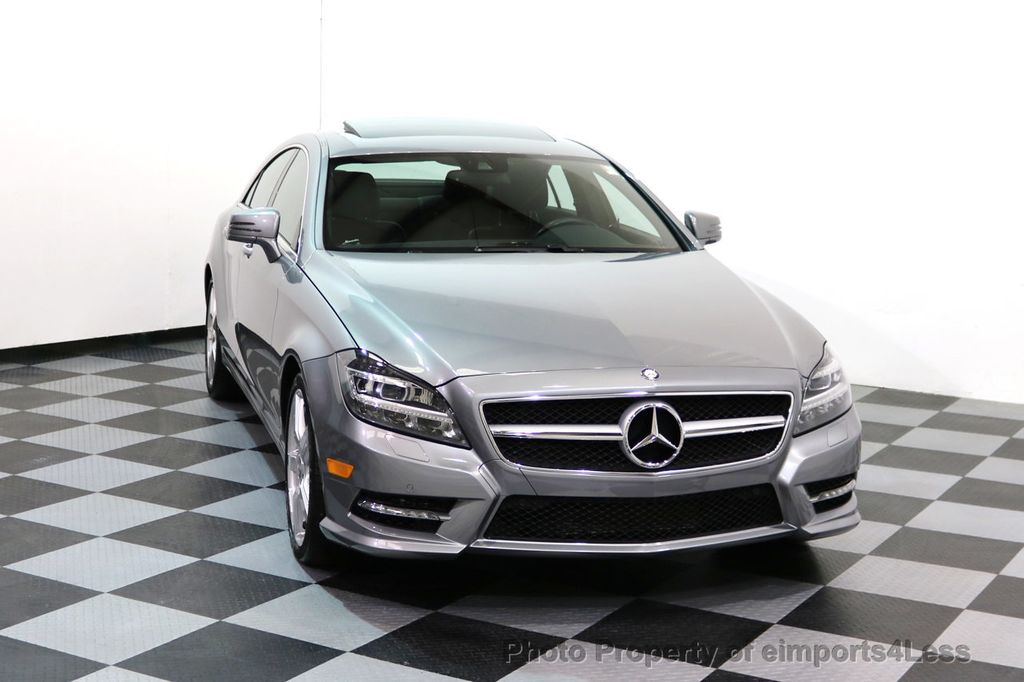 2014 Mercedes-Benz CLS CERTIFIED CLS550 4Matic AMG Sport AWD Lane Tracking NAVI - 17227763 - 27