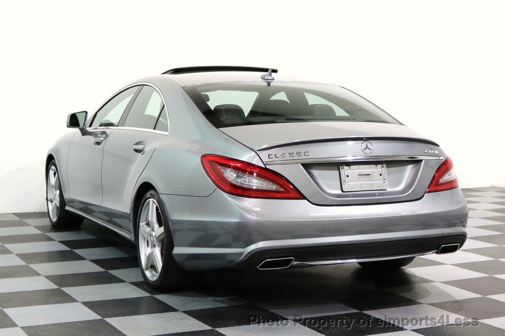 2014 Mercedes-Benz CLS CERTIFIED CLS550 4Matic AMG Sport AWD Lane Tracking NAVI - 17227763 - 2