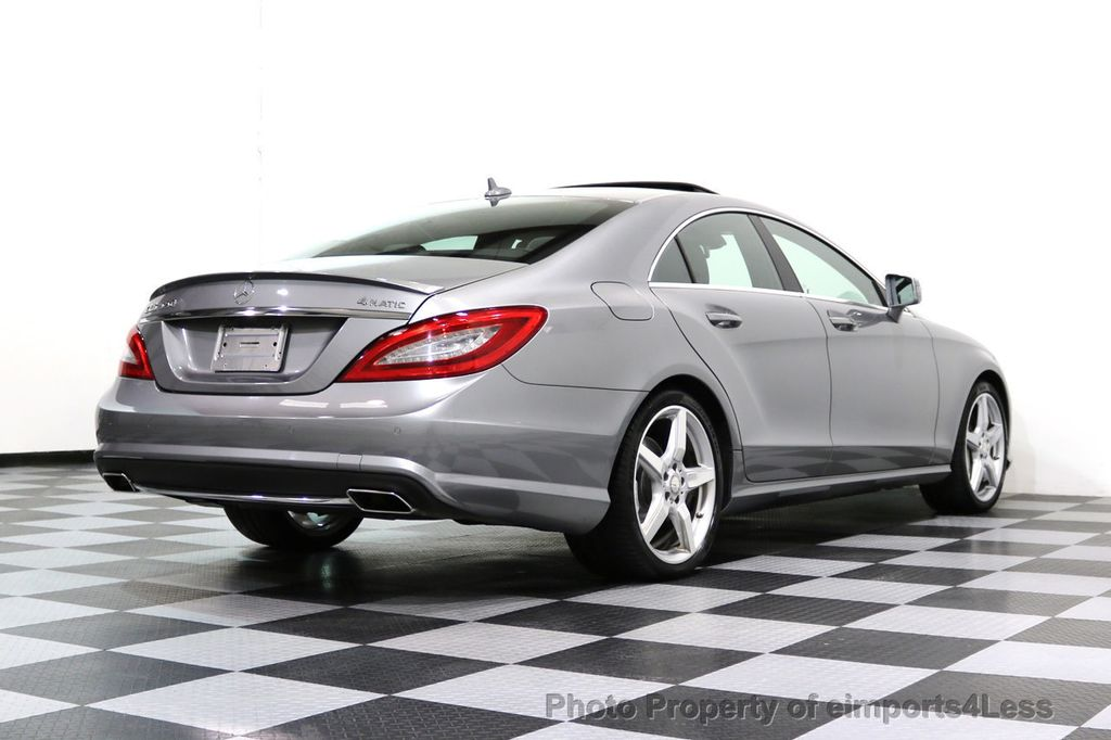 2014 Mercedes-Benz CLS CERTIFIED CLS550 4Matic AMG Sport AWD Lane Tracking NAVI - 17227763 - 30