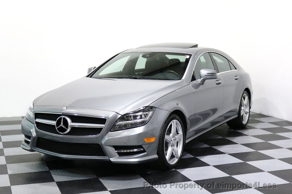 Superior 2014 Mercedes Benz CLS CERTIFIED CLS550 4Matic AMG Sport AWD Lane Tracking  NAVI   17227763