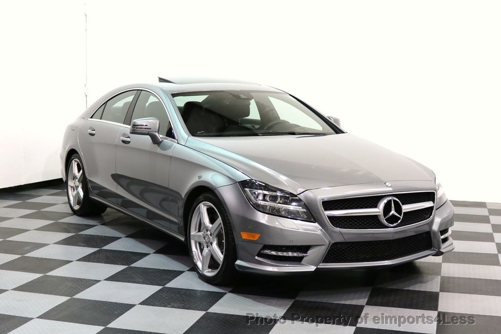 2014 Mercedes-Benz CLS CERTIFIED CLS550 4Matic AMG Sport AWD Lane Tracking NAVI - 17227763 - 41