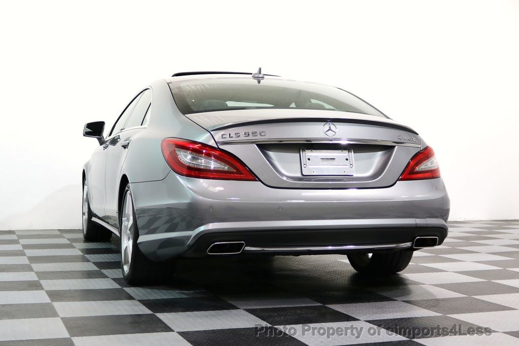 2014 Mercedes-Benz CLS CERTIFIED CLS550 4Matic AMG Sport AWD Lane Tracking NAVI - 17227763 - 42