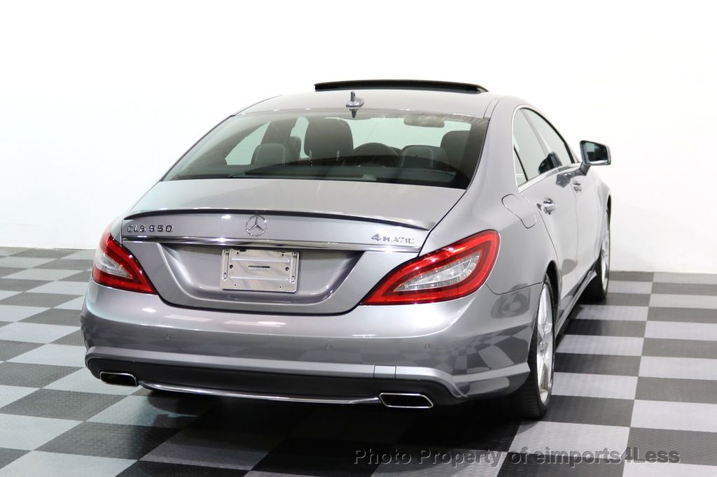 2014 Mercedes-Benz CLS CERTIFIED CLS550 4Matic AMG Sport AWD Lane Tracking NAVI - 17227763 - 43
