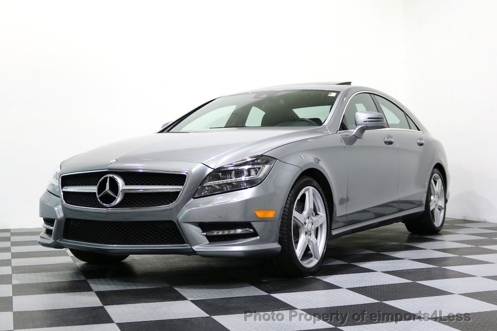 2014 Mercedes-Benz CLS CERTIFIED CLS550 4Matic AMG Sport AWD Lane Tracking NAVI - 17227763 - 50