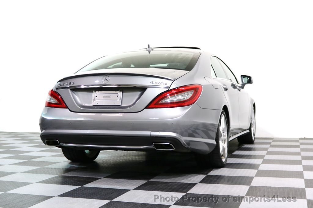2014 Mercedes-Benz CLS CERTIFIED CLS550 4Matic AMG Sport AWD Lane Tracking NAVI - 17227763 - 52