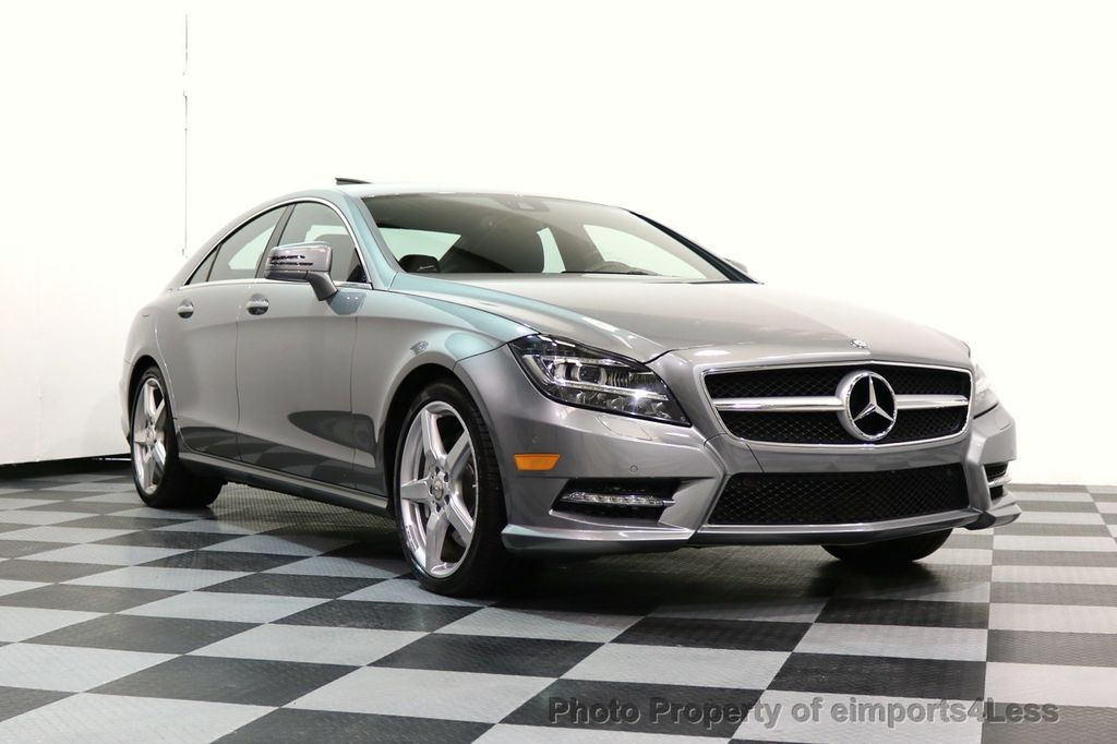 2014 Mercedes-Benz CLS CERTIFIED CLS550 4Matic AMG Sport AWD Lane Tracking NAVI - 17227763 - 53