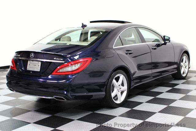 2014 Mercedes Benz CLS CERTIFIED CLS550 4Matic AMG SPORT AWD NAVIGATION    16676238   51