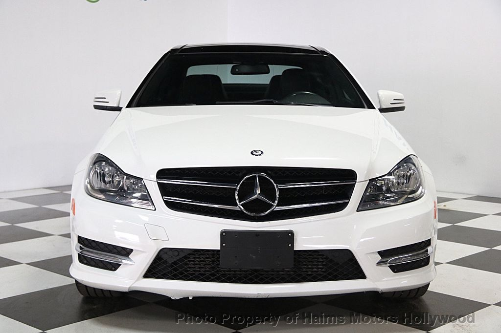 2014 used mercedes benz c class 2dr coupe c250 rwd at haims motors serving fort lauderdale - Mercedes c class coupe used ...