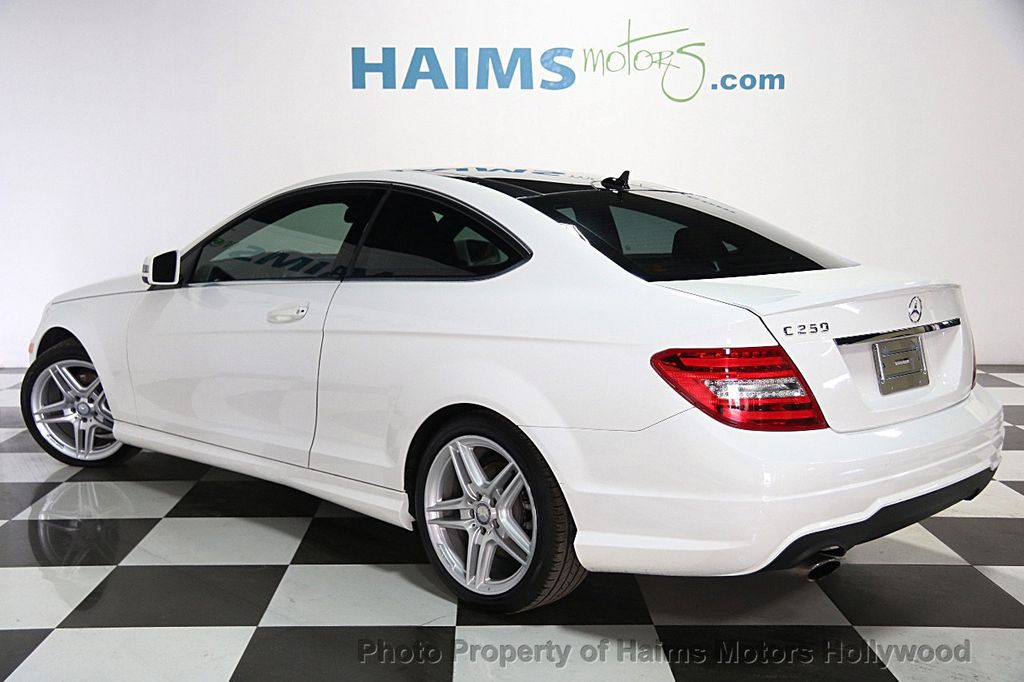 2014 used mercedes benz c class 2dr coupe c250 rwd at haims motors hollywood serving fort. Black Bedroom Furniture Sets. Home Design Ideas
