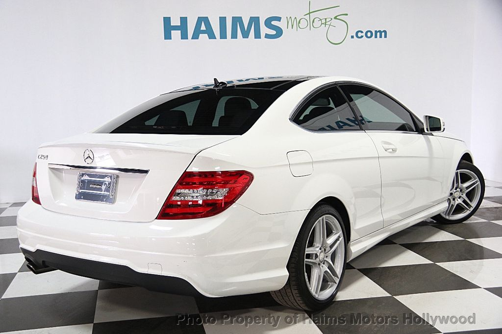 2014 used mercedes benz c class 2dr coupe c250 rwd at - Mercedes c class coupe 2014 ...