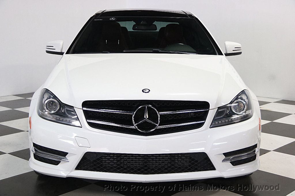 2014 used mercedes benz c class 2dr coupe c250 rwd at haims motors serving fort lauderdale. Black Bedroom Furniture Sets. Home Design Ideas