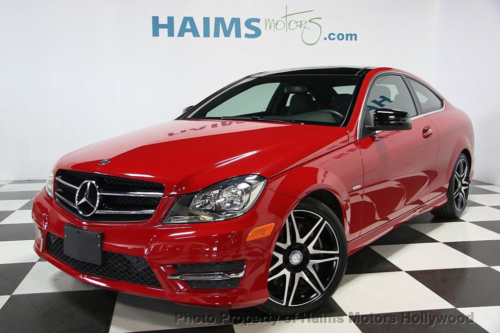 2014 used mercedes benz c class 2dr coupe c 250 rwd at haims motors serving fort lauderdale. Black Bedroom Furniture Sets. Home Design Ideas