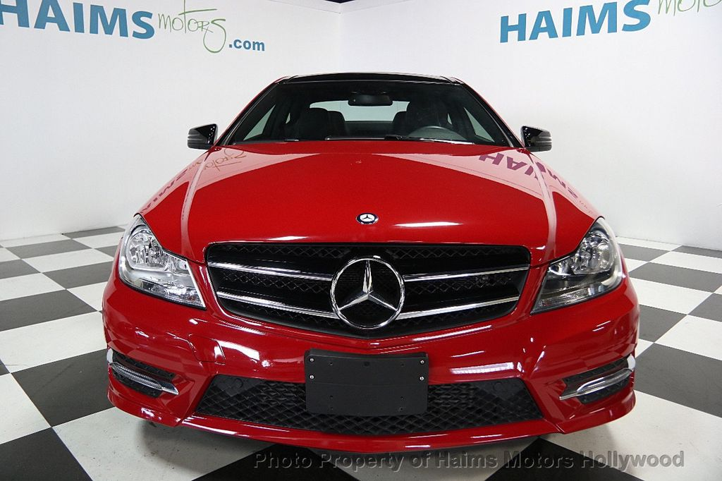2014 used mercedes benz c class 2dr coupe c 250 rwd at for Used mercedes benz coupe