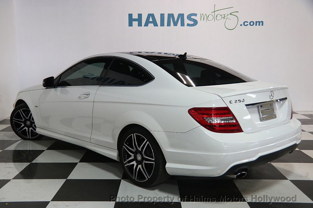 2014 used mercedes benz c class 2dr coupe c 250 rwd at - Mercedes c class coupe 2014 ...