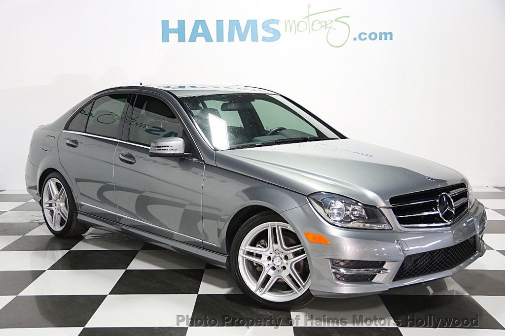 2014 used mercedes benz c class 4dr sedan c250 sport rwd at haims motors ft lauderdale serving. Black Bedroom Furniture Sets. Home Design Ideas