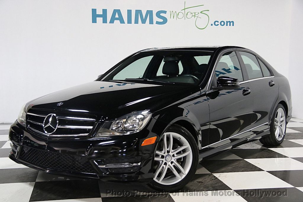 2014 used mercedes benz c class 4dr sedan c250 sport rwd at haims motors hollywood serving fort - Mercedes benz c250 coupe 2014 ...
