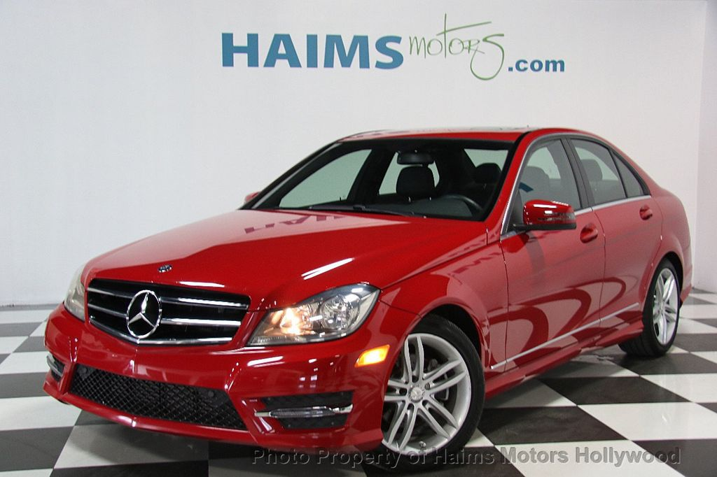 2014 Mercedes Benz C Class 4dr Sedan C 250 Sport RWD   16441343