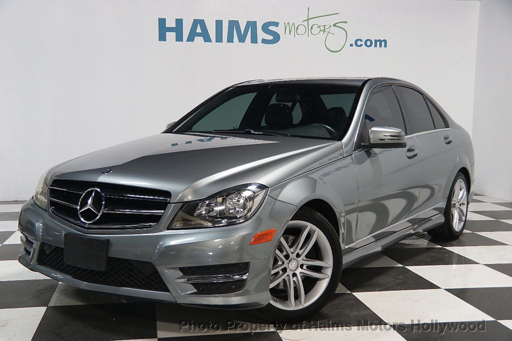 2014 used mercedes benz c class 4dr sedan c 250 sport rwd at haims motors hollywood serving fort. Black Bedroom Furniture Sets. Home Design Ideas